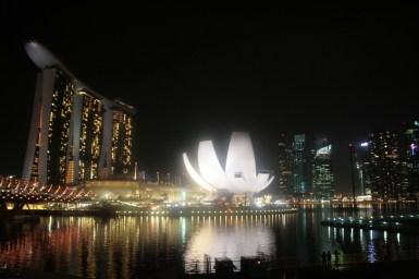 Marina Bay Sands et le Lotus