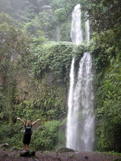 Choupi et la cascade