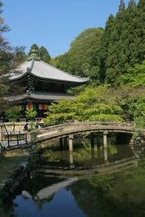 Intérieur du Chion In Temple