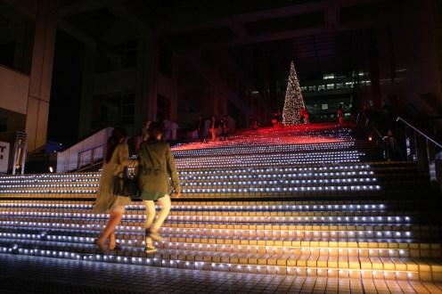 Escaliers de Fuji TV