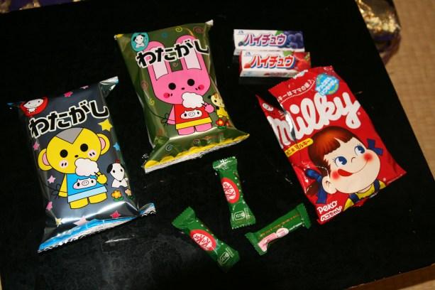 Sucreries japonaises