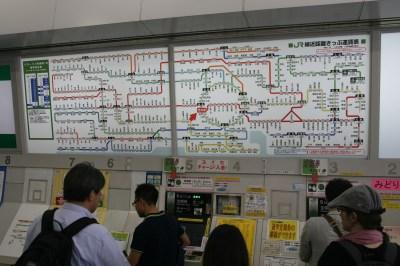 Plan de métro