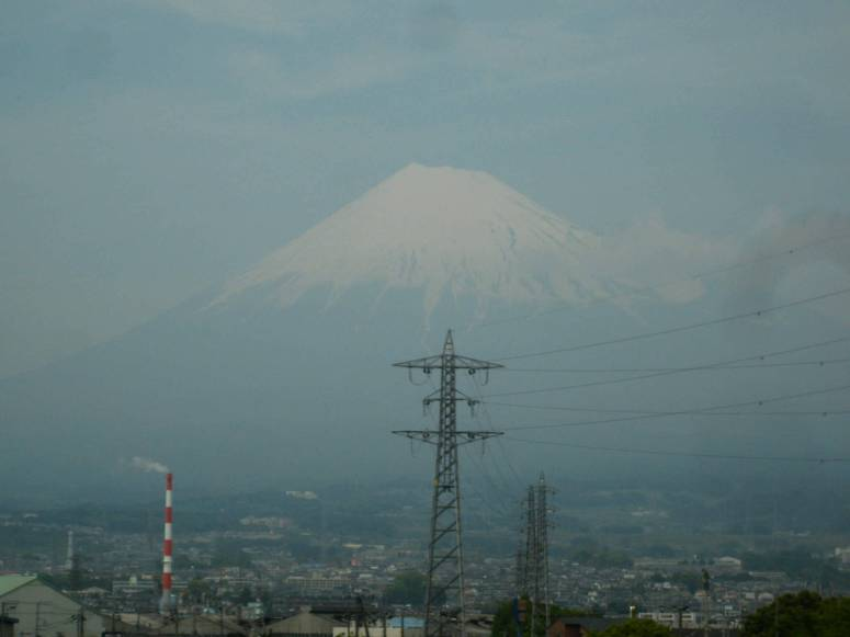 Mont Fuji depuis le Shinkansen