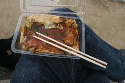 Okonomiyaki step 5