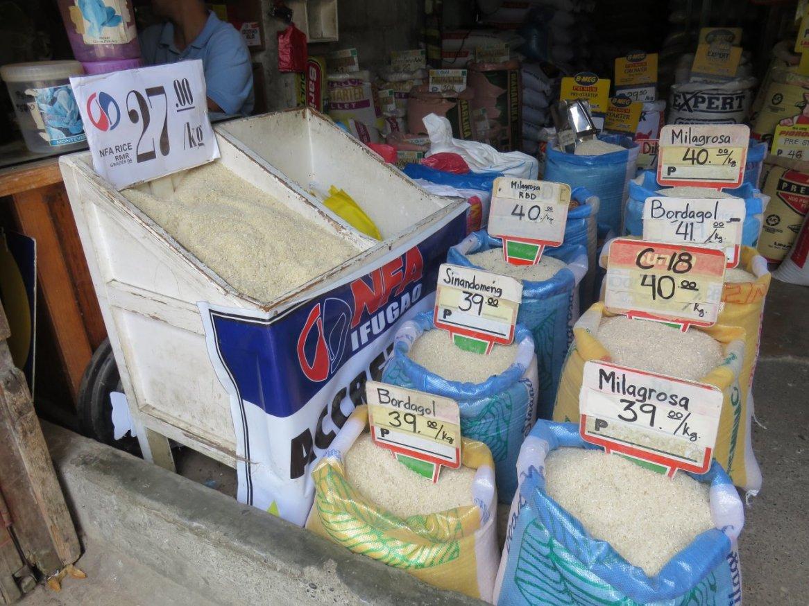 Différents riz
