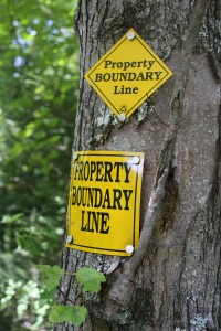 Boundary Signs