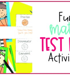 Fun Math Test Prep Activities - Not So Wimpy Teacher [ 750 x 1350 Pixel ]