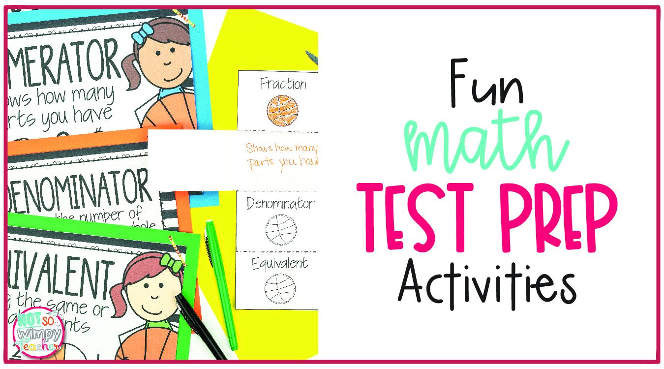 hight resolution of Fun Math Test Prep Activities - Not So Wimpy Teacher