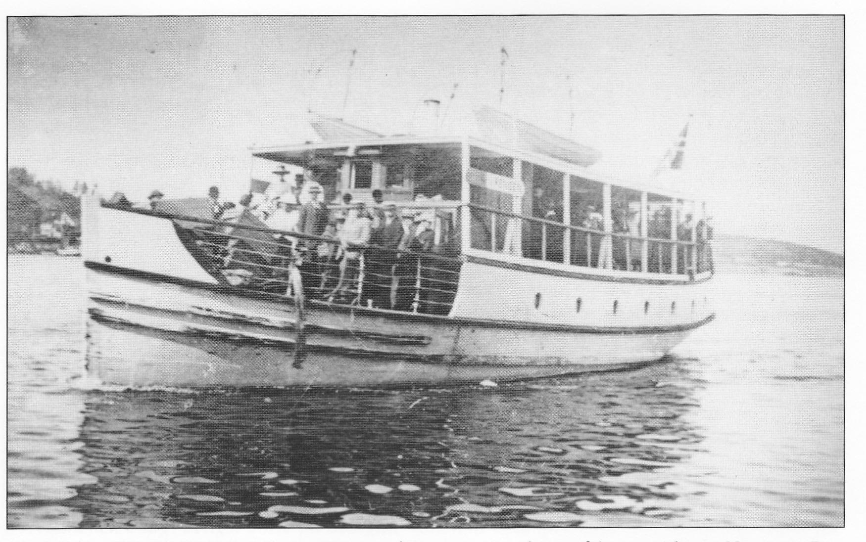 Da rutebåtene anløp Munkerekka