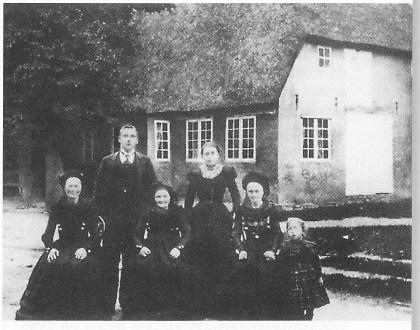 Huset som Volkert Erik Breckling vokste opp i på FÜhr. Harro Bohn: Nieblum.