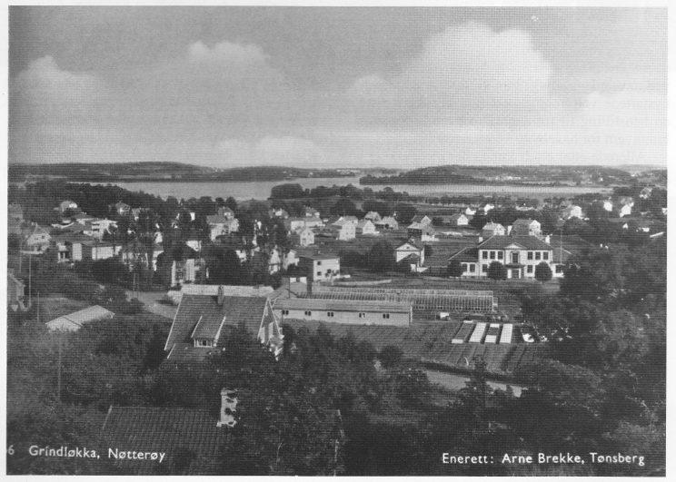 Ved utparselleringen av Grindløkken oppsto en ny skolekrets, og Grindløkken skole ble oppført i 1930. Foto: Arne Brekke.