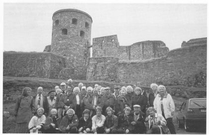 Båhus Festning. Fra historielagets tur 12. - 13. sept. 1998. Foto: Thore Holm.