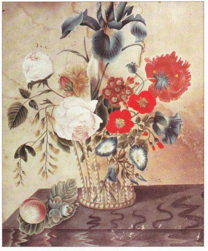 Denne akvarellen malte Elise Tvede som ung pike tidlig i 1830-åra. (Foto: The Institute of Texan Cultures, San Antonio)