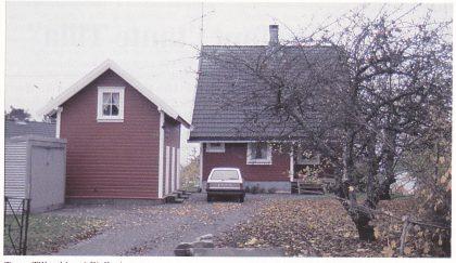 Tante Tillas hjem i Fjellveien.