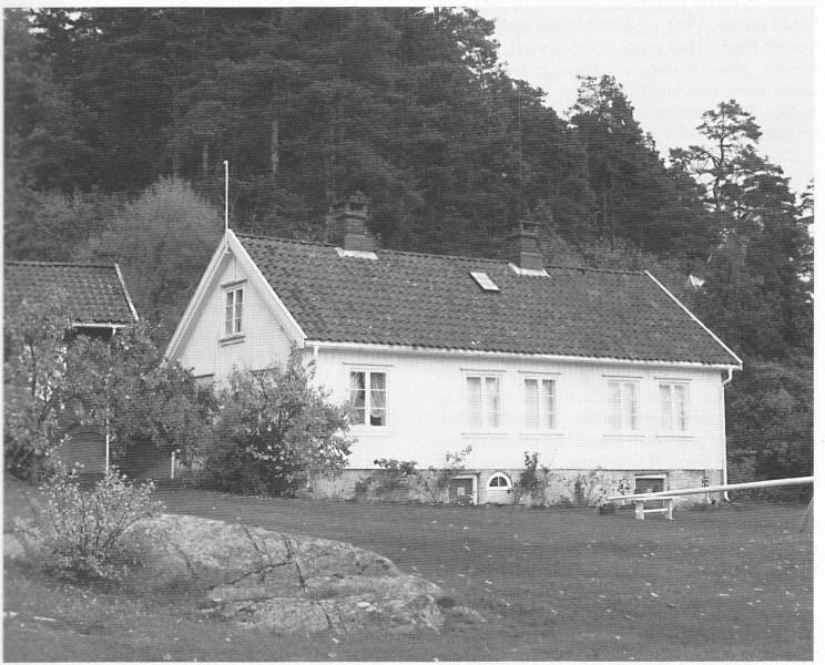 Mariestrand i Strengsdal i dag. Blant lokalbefolkningen er det ulike oppfatninger om det var her eller i Styrsvik Munch malte Vrengen landhandel.