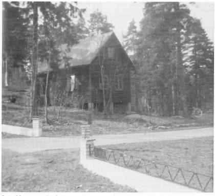 Smia til Bøe øverst i Grindstuveien var kjent av alle på Teie fram til 1950-årene. Den ble revet i 1963.