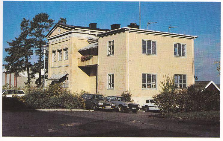 A.B. Bulls villa « Fagerheim» på Kaldnes slik den tar seg ut i dag. (Foto S.H.)