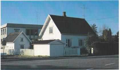 Solstua Øverst i Hella veien der Jørgen Øhre levde de siste årene av sitt liv, 1941 – 1958. (Foto S.H.)