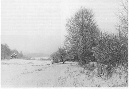 Vinterstemning i Strengsdal (Foto utlånt av Grethe Horn)