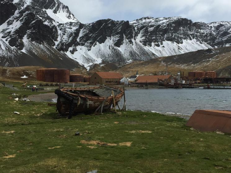 Grytviken Foto: Arthur M. Hansson