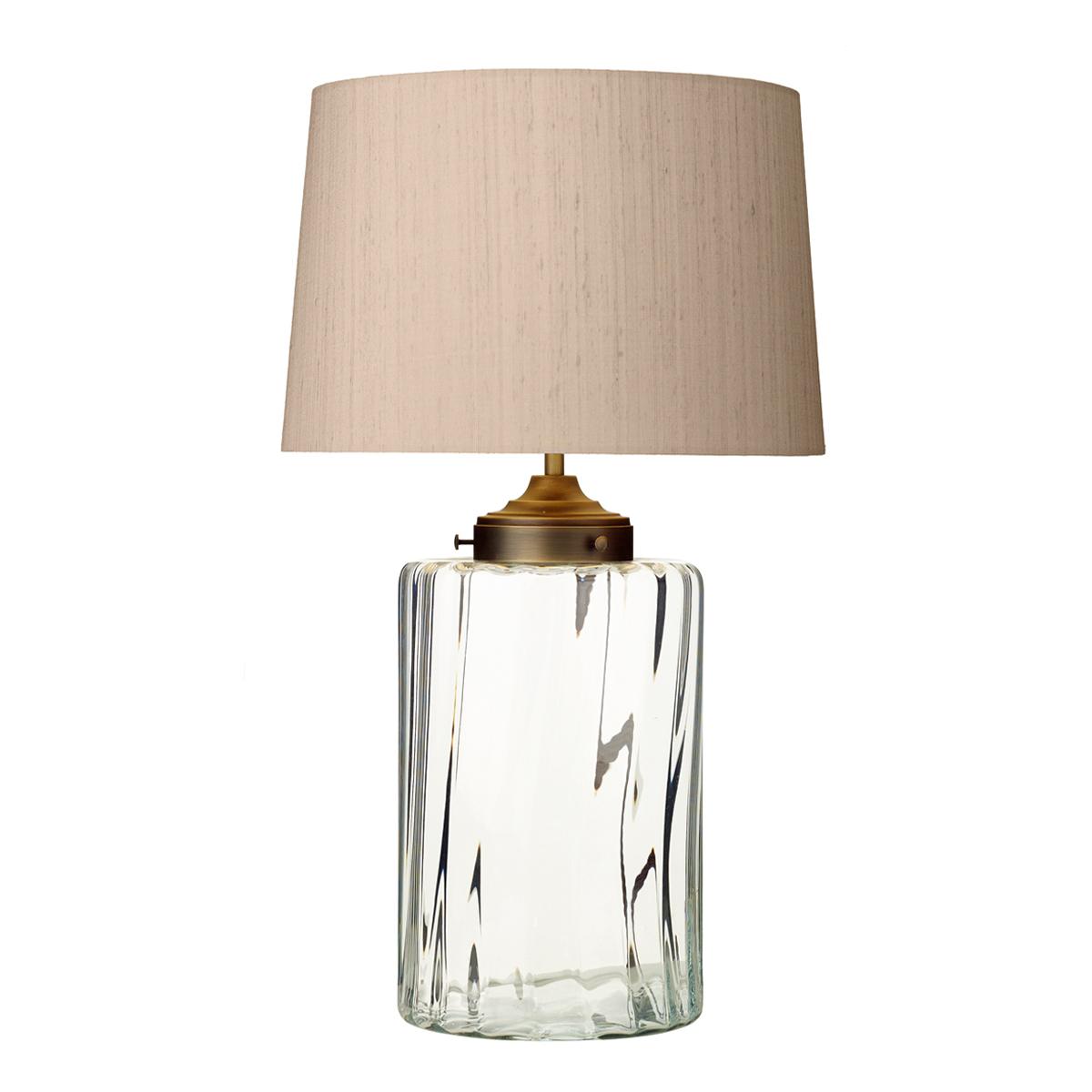 Kew Table Lamp Clear Glass Base Only Nottingham Lighting Centre