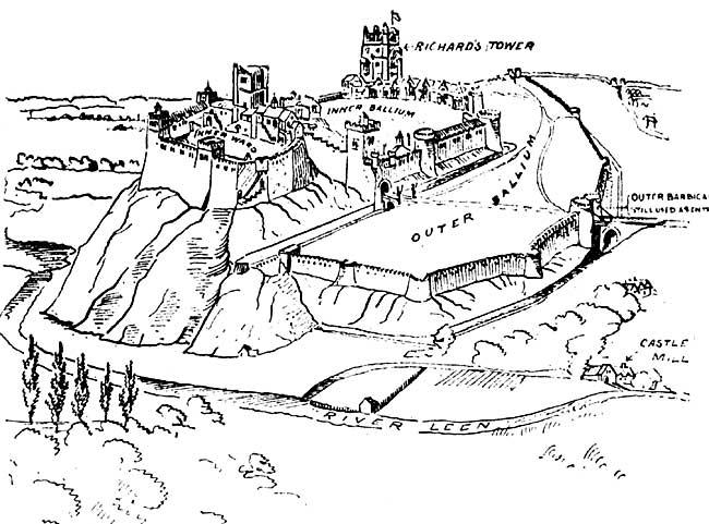 Nottinghamshire history > A Short History of Nottingham Castle