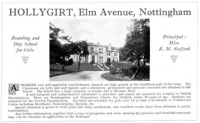 Nottinghamshire history > Nottingham,