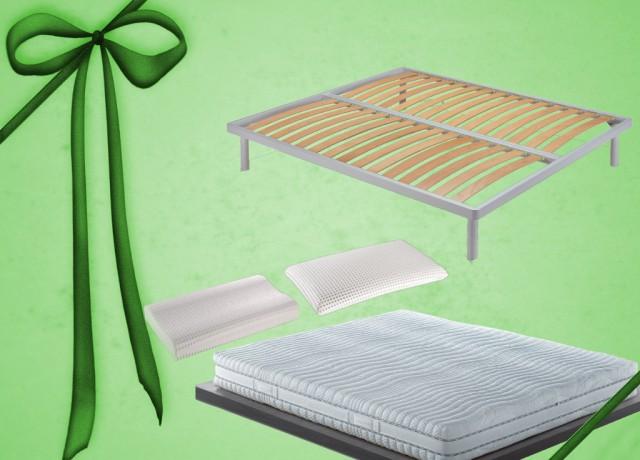 Notturnia Offerta materasso due piazze Dorelan con rete e