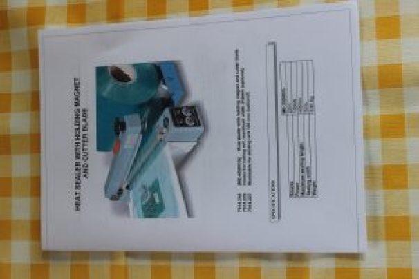 Bedienungsanleitung Folienschweissgerät