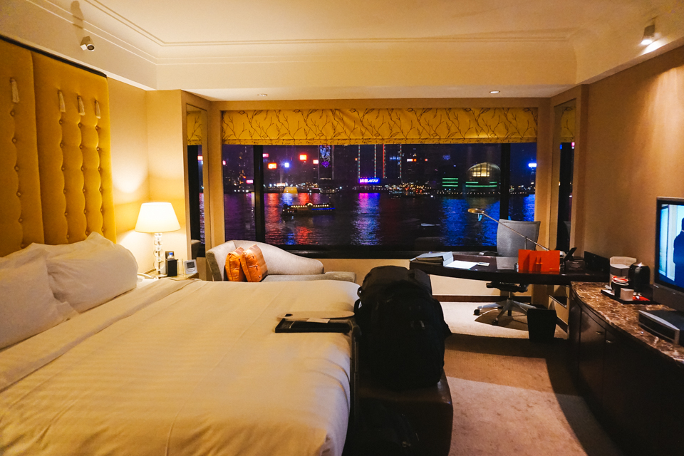 Intercontinental Hong Kong Habour View Room
