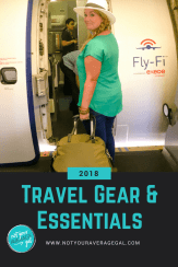 The Best Travel Gear & Essentials. #traveltips #packingtips #travelgear #notyouraveragegal