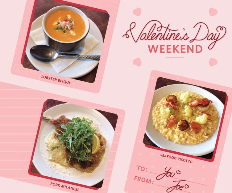 Taste our Valentine's menu from Feb 14 – 17!