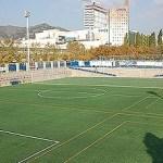 La Fundació Marcet torna les claus del camp de futbol de Porta