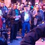 Concentració en suport als imputats per destrosses als Serveis Socials de la Zona Nord
