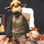 La companyia Peus de porc  intrepreta 'A taula!' a l'Ateneu Popular de Nou Barris