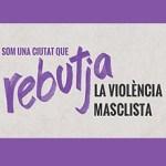 Nou Barris surt a la plaça Major contra la violència masclista