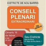 Consell plenari extraordinari a les 20.30h