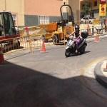 Comença la remodelació del carrer de Canfranc