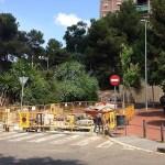 Afectacions al trànsit per obres al clavegueram a Canyelles