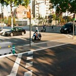 Comencen les obres per millorar la seguretat dels vianants a la Meridiana
