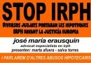 L'advocat José M. Erausquin parla sobre els abusos hipotecaris a la Masia de la Guineueta