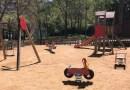 Ciutat Meridiana reclama la renovació de dos parcs infantils