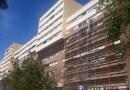 Arrenca la rehabilitació del bloc més gran de Canyelles per carbonatació