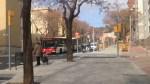 Verdum estrena voreres més amples al carrer d'Almansa
