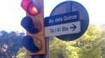 L'Ajuntament instal•la abans d'hora la senyalització de l'avinguda dels Quinze
