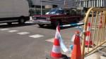 Obres de pavimentació al carrer de Rosselló i Porcel