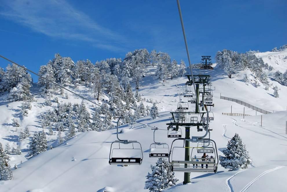 La temporada d'esquí ja ha començat