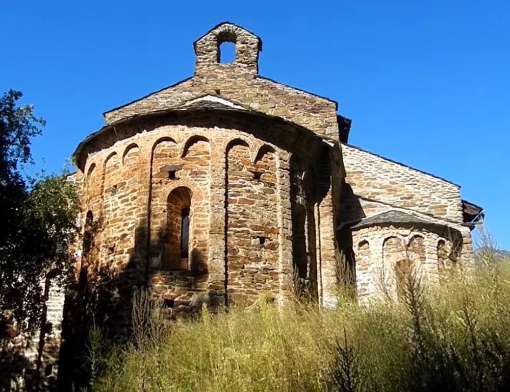 El monestir de Sant Pere del Burgal
