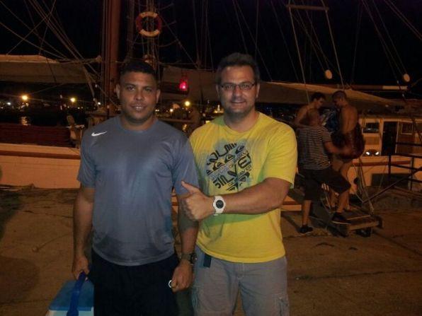Ronaldo, junto a Dani Ferrer, en una imagen de archivo