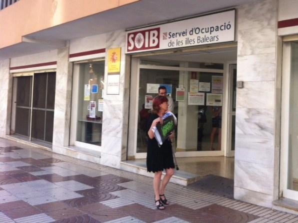 Imagen de la oficina del SOIB en Vila.
